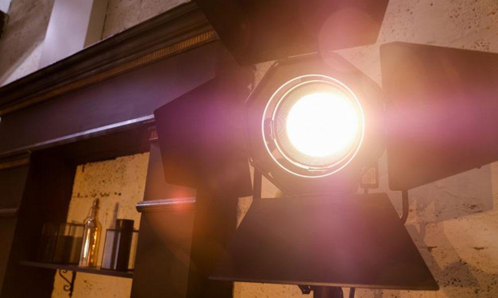 نور در سالن همایش