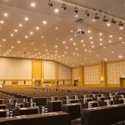 نور پرداری در سالن آمفی تئاتر