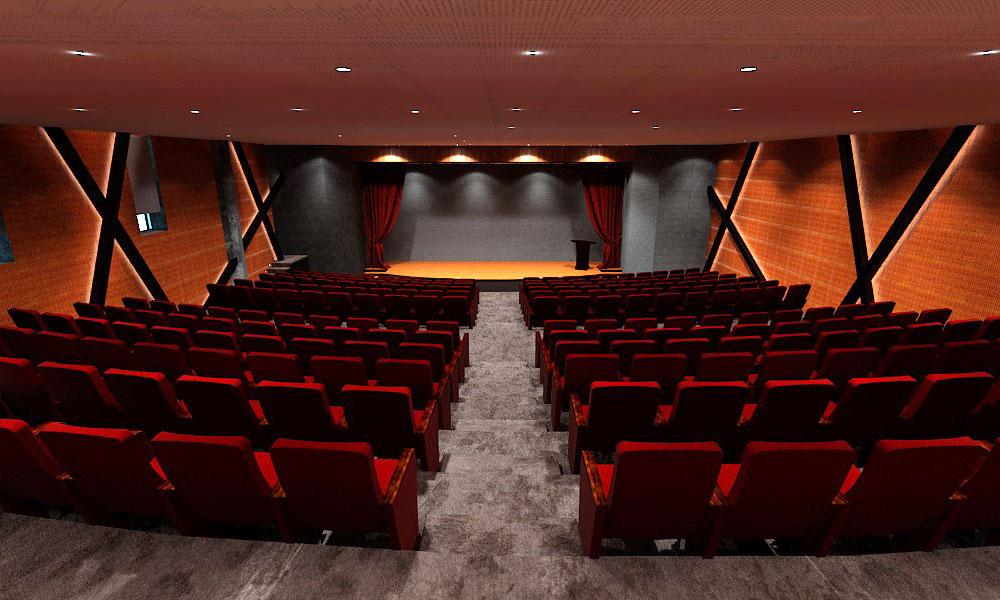 صندلی آمفی تئاتر مدرن