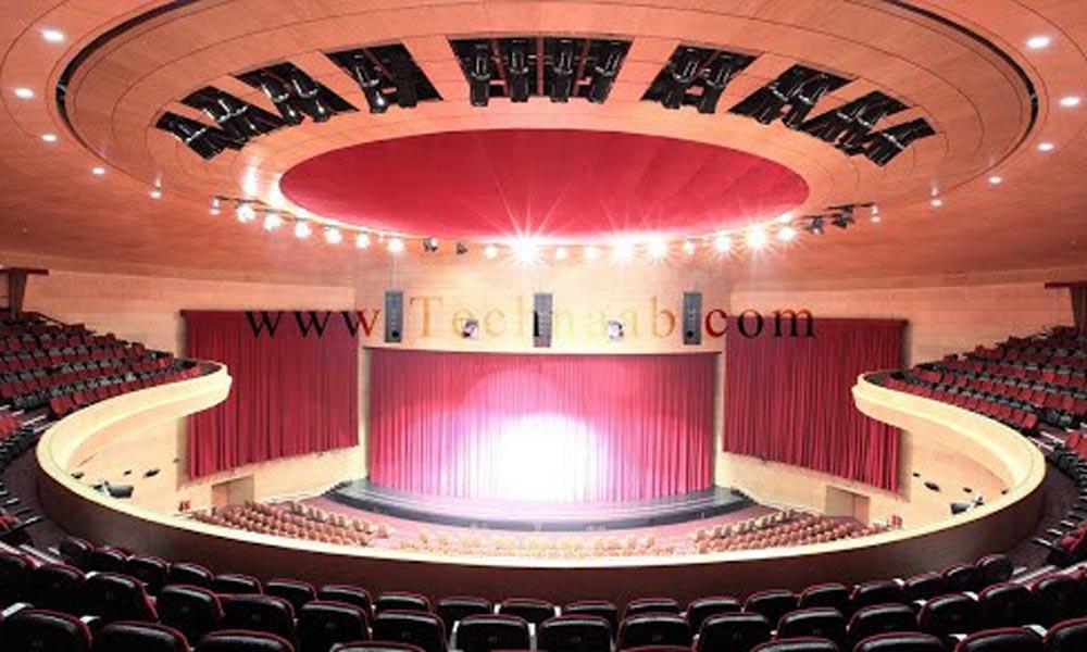 طراحی سیستم صوت سالن آمفی تئاتر