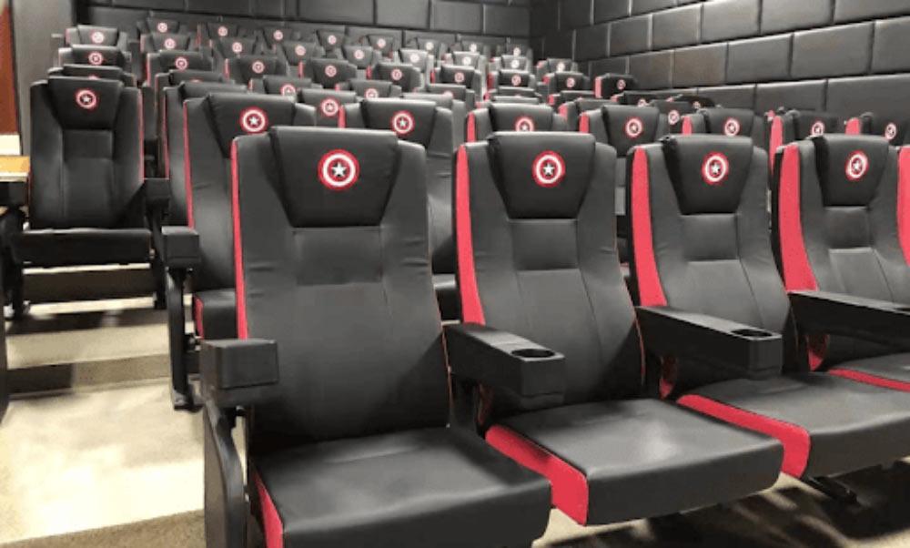 انتخاب صندلی سینمایی
